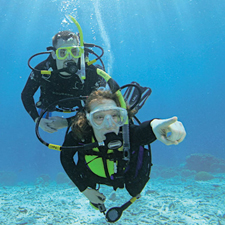 Try Scuba Divig and PADI Discover Scuba Diving